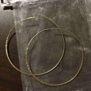 Anthropologie Hoop Earrings
